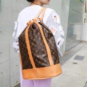 Auth Louis Vuitton Randonnee Gm Shoulder #3321L25